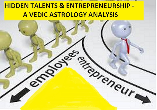 ASTROLOGY ARTICLE 37: ALL ABOUT ENTREPRENEURSHIP AND VEDIC ASTROLOGY